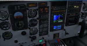 Flight 1 GNS530 Approaching FAF