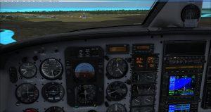 Flight 1 GNS530 Approaching minimums
