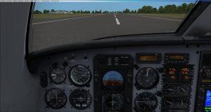 Flight 1 GNS530 Landing
