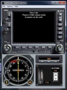 Flight 1 GNS530 TR1