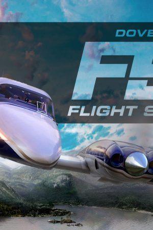 DTG Flight Sim World Logo