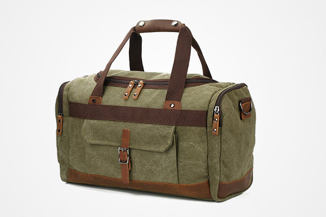 Weekender Canvas Duffle Bags for Every Man - 2017 - Fit Stop Garage a014e1c7b5