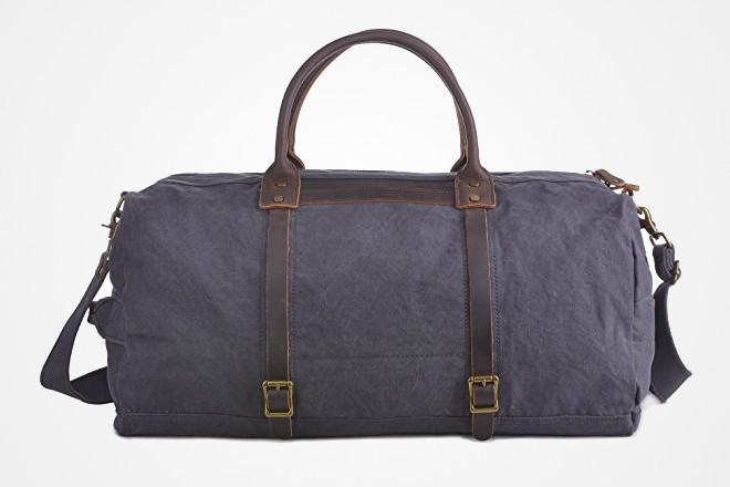 vintage canvas duffel