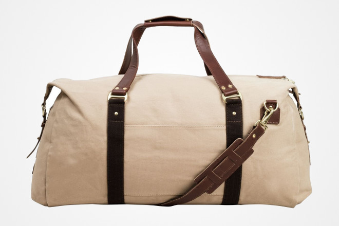 waterproof canvas carry on duffle