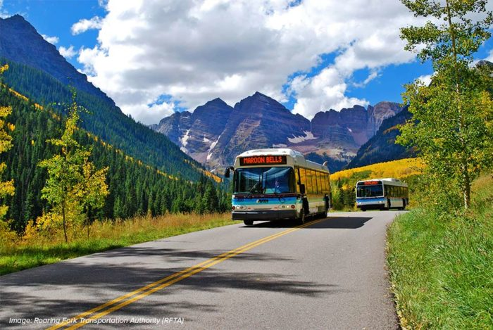 Maroon Bells Guided Bus Tours with RFTA