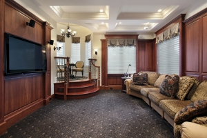 Home Theater with TV