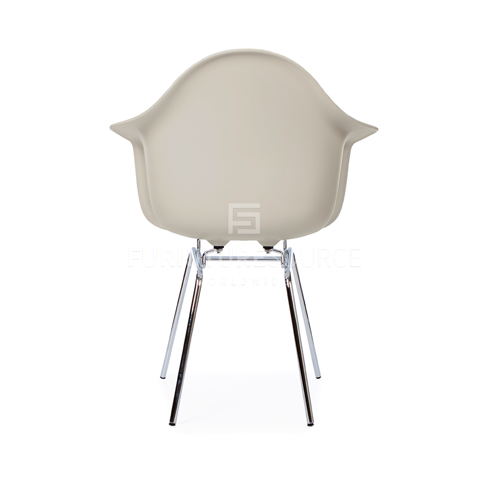 Eames DAX Style H Base Mid Century Modern Molded Plastic