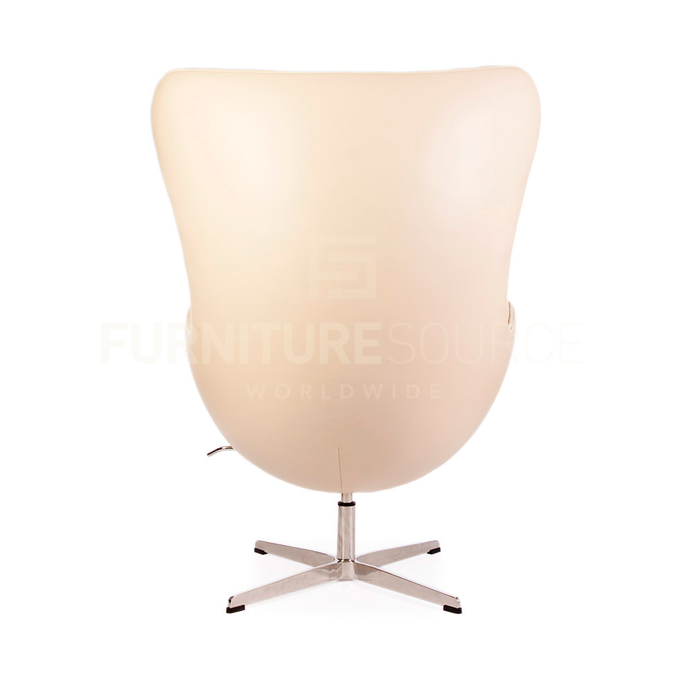 Arne Jacobsen Style MidCentury Modern Egg Arm Chair