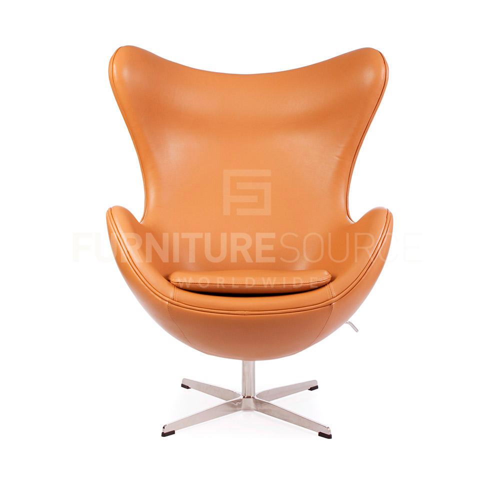 arne jacobsen style midcentury modern egg arm chair. Black Bedroom Furniture Sets. Home Design Ideas