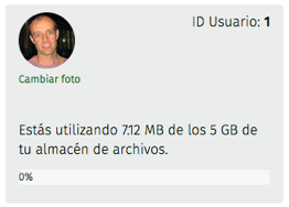 cuota de almacén de archivos