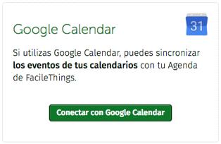 Integración con Google Calendar