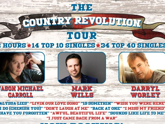 THE COUNTRY REVOLUTION TOUR tickets - Northern Lights Casino