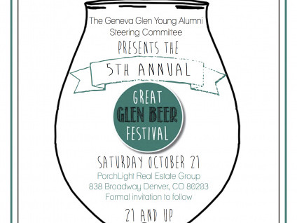 Fifth Annual Great Glen Beer Festival Event tickets - GG Young Alumni