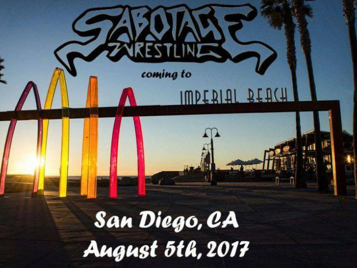 "Sabotage   ""Something's got to give"" Event tickets - The Wrestling Guy"