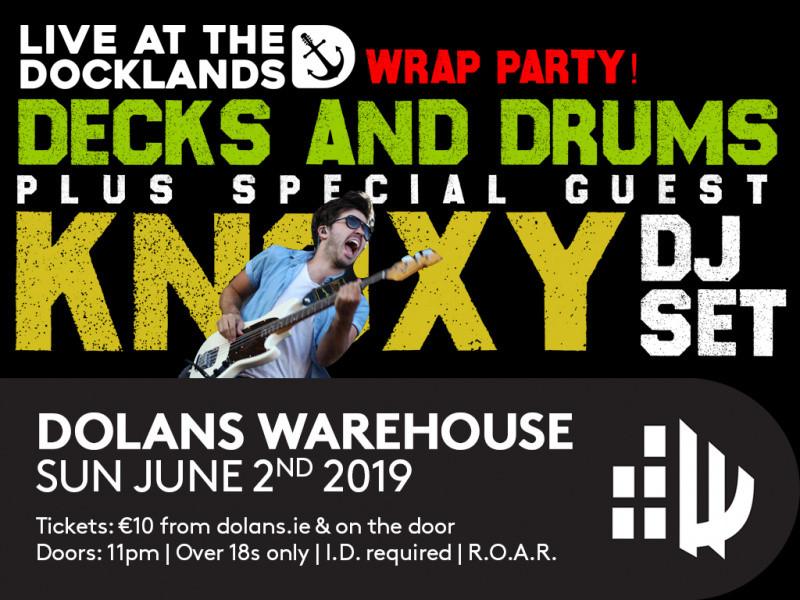 KNOXY DJ Set/Decks and Drums  tickets - Dolans pub