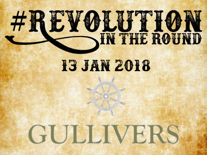 Revolution in the Round at Gullivers Event tickets - Lars Pluto
