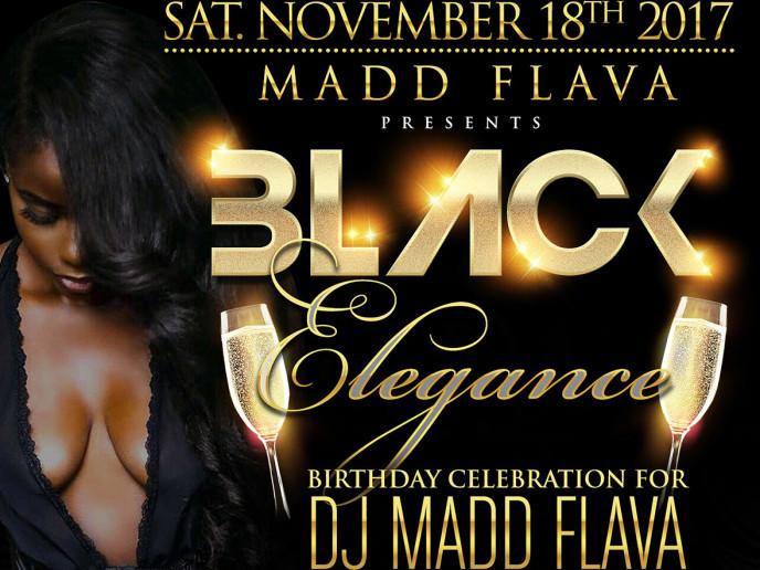 Black Elegance '17 Event tickets - Maddflava Da Movement