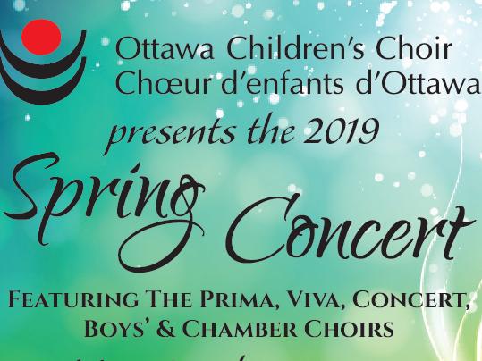 Spring Concert Event tickets - Ottawa Children's Choir