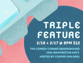 Triple Feature Event tickets - The Comedy Corner Underground