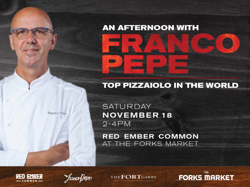 An afternoon with Franco Pepe Event tickets - The Forks