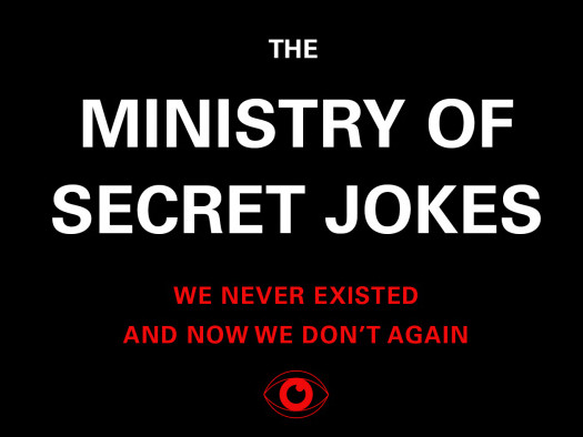 Ministry of Secret Jokes Event tickets - Good Good Comedy Theatre