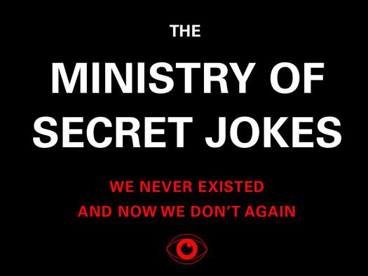 Ministry of Secret Jokes tickets - Good Good Comedy Theatre