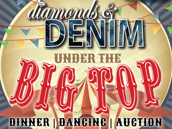 Diamonds & Denim Under the BIG TOP! Event tickets - Elizabethan Gardens