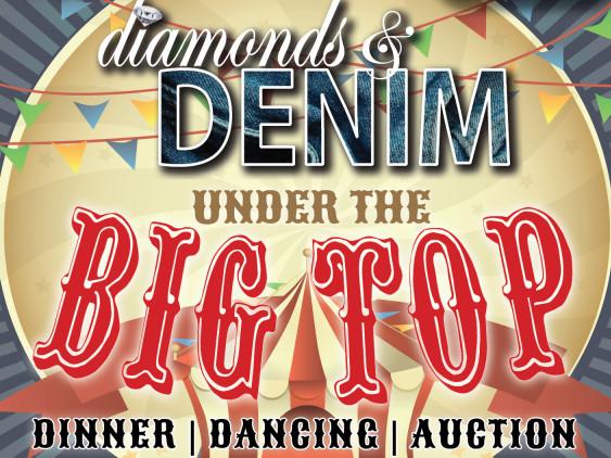Diamonds & Denim Under the BIG TOP! tickets - Elizabethan Gardens