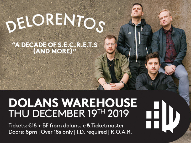 Delorentos tickets - Dolans pub