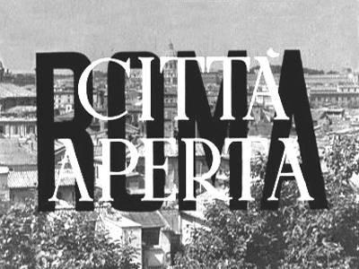 Roma città aperta tickets - San Diego Italian Film Festival