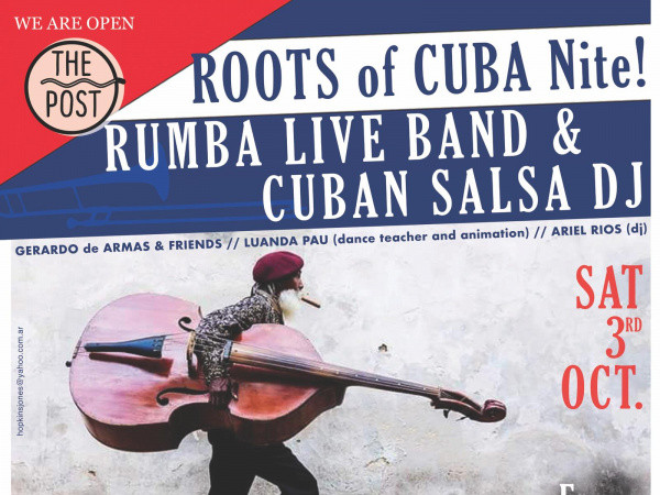 ROOTS OF CUBA NIGHT - RUMBA LIVE BAND