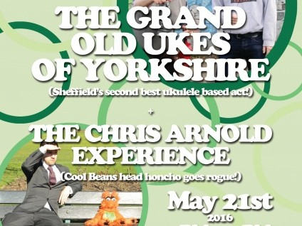 Cool Beans Presents….  GRAND OLD UKES OF Event tickets - Regather