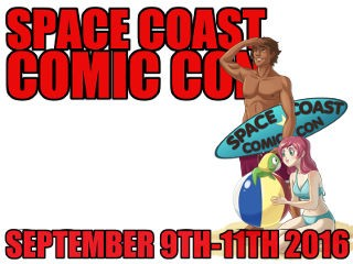 SpaceCoast Comic Con 2016 Event tickets - Space Coast Comic Con