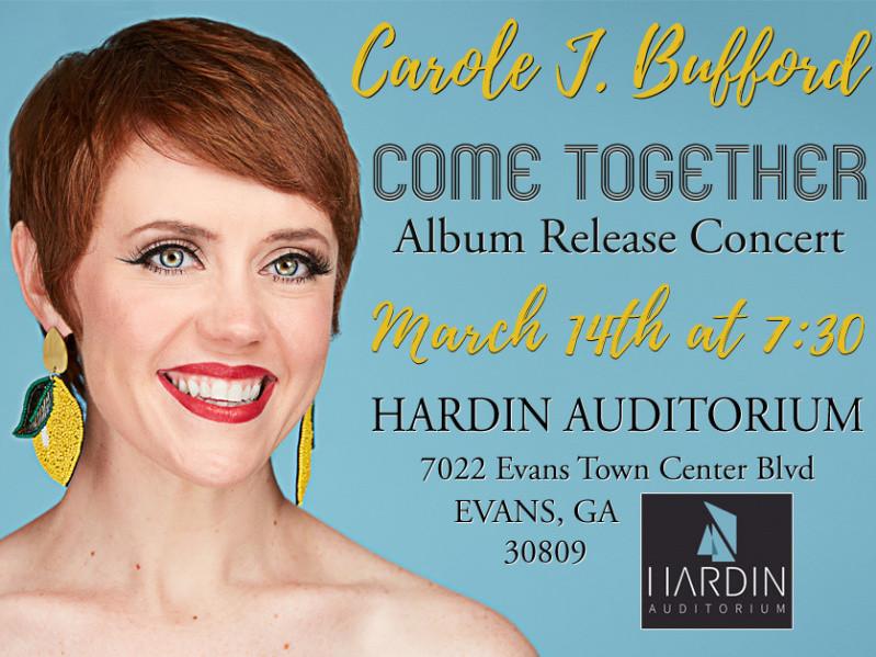 Carole J. Bufford in Evans, GA Event tickets - Carole J. Bufford