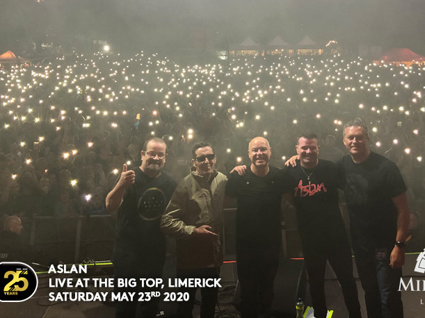 Aslan Live At The Big Top 2020 tickets - Dolans pub