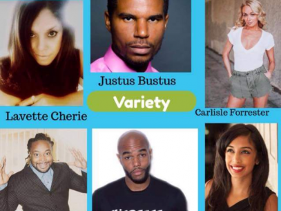 Justus Bustus Variety Show Event tickets - Black Theater