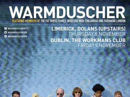 Warmduscher Event tickets - Dolans pub
