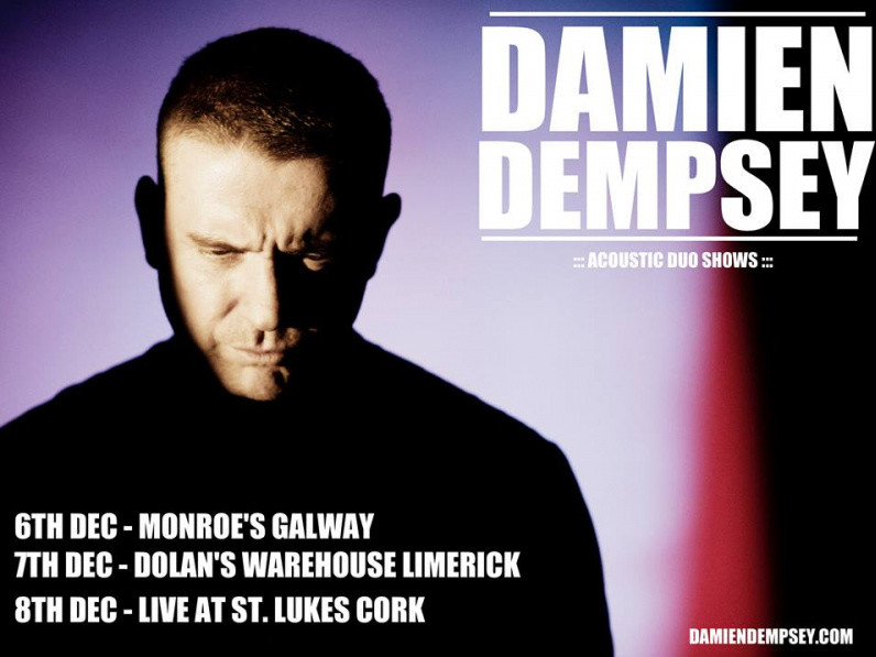 Damien Dempsey (Acoustic Duo) Event tickets - Dolans pub