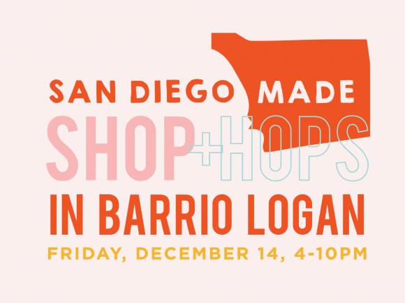 Shop + Hops Market in Barrio Logan tickets - San Diego Made