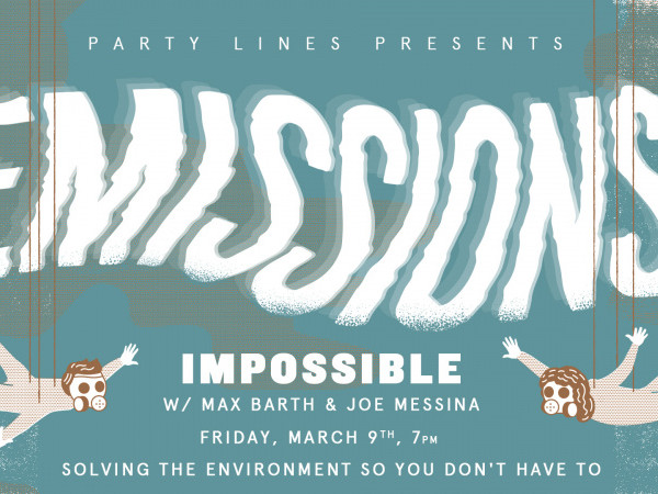 Party Lines: Emissions Impossible tickets - Good Good Comedy Theatre