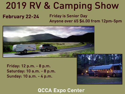 RV & Camping Show - 2019 Event tickets - QCCA Expo Center Event Tickets