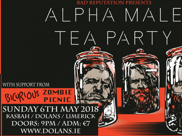 Alpha Male Tea Party (Eng) / Bicurious / tickets - Dolans pub