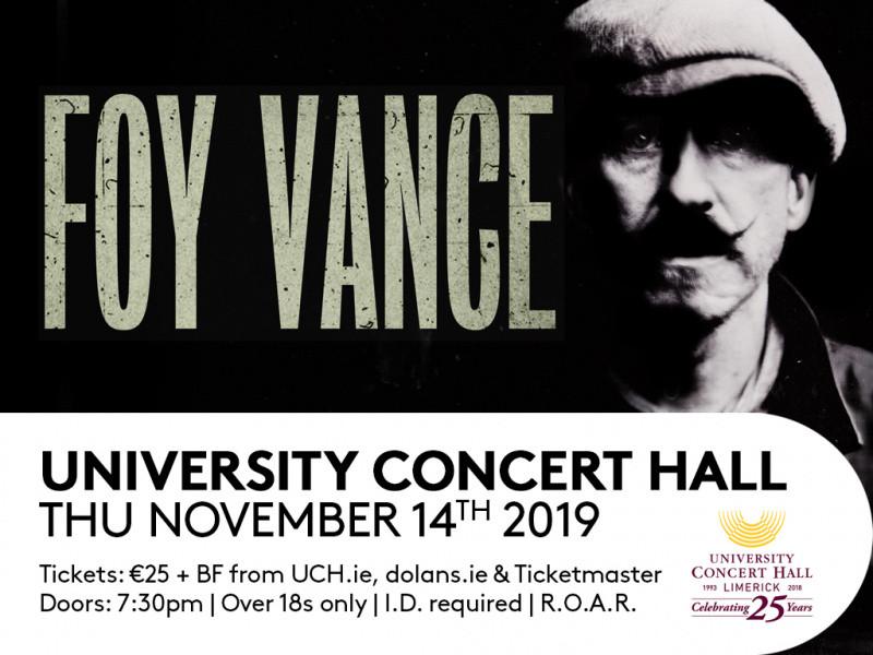 Foy Vance tickets - Dolans pub