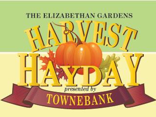 Harvest HAYday presented by TowneBank Event tickets - Elizabethan Gardens
