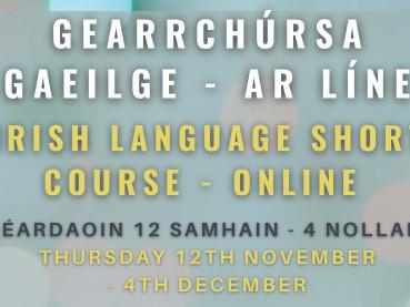 Gearrchúrsa Gaeilge - ar líne