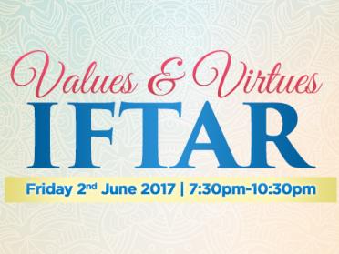 Values & Virtues Iftar 2017