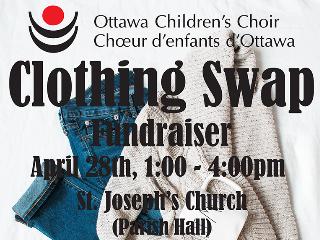 Clothing Swap Event tickets - Ottawa Children's Choir