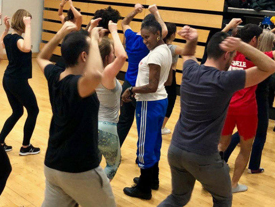 5 weeks Afro-Cuban dance course