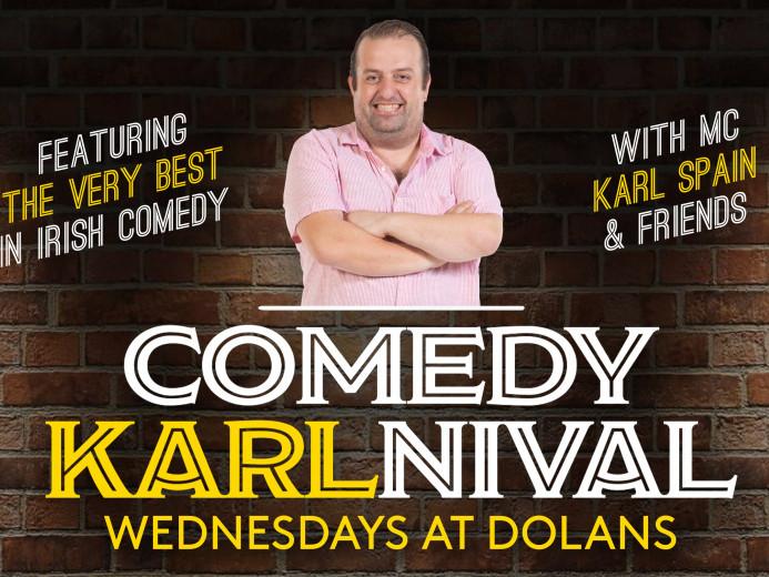 Comedy Karlnival Tony Law & Margaret McH Event tickets - Dolans pub