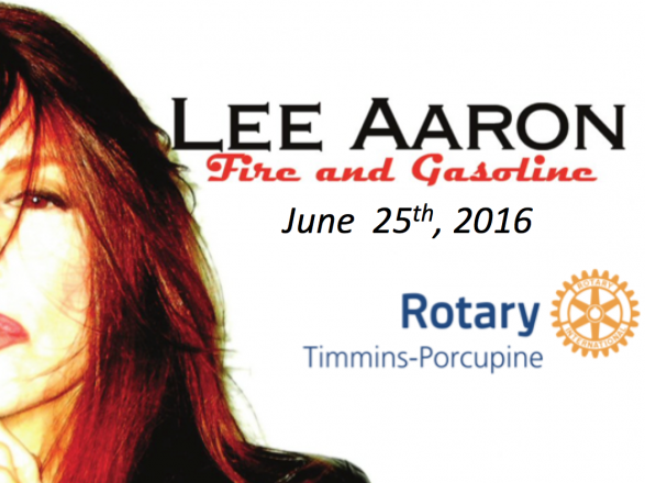 Lee Aaron Live at Parkfest - 19+ Event tickets - MEDJServices